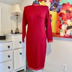 St. John vintage sweater dress